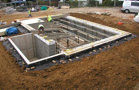 construction of basement the cropthorne autonomous house