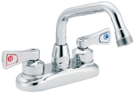 utility faucet 8 inch moen 8277 commercial m dura 4 inch centerset utility