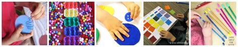 Color Sort Busy Activity For Children 365 Days Of Crafts - ultimate guide of busy bag ideas 100 ideas sorted by