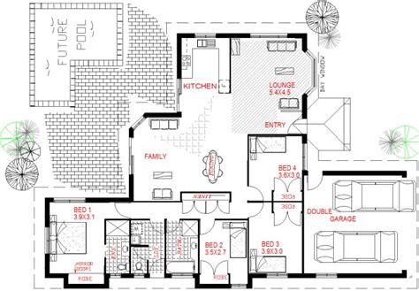 affordable 4 bedroom house plans bedroom low set home kit home designs