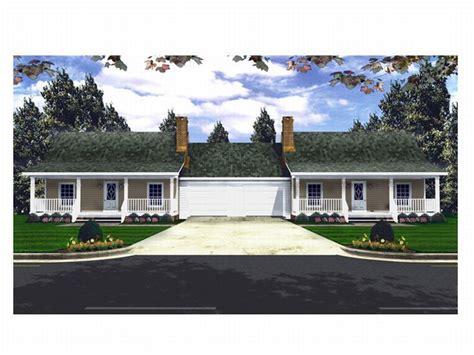 multi family house plans duplex multi family home plans one story duplex house plan 001m 0003 at thehouseplanshop com