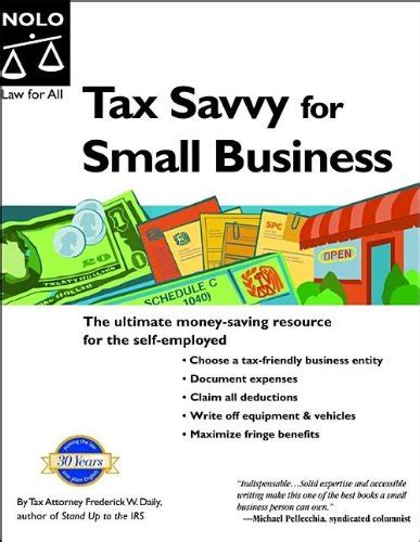 Tax Savvy For Small Business Ed 6 tax savvy for small business year tax strategies to save you money 9th edition repost