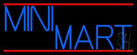 neon mart led lights mini mart neon sign grocery neon signs neon light