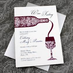 Wine Tasting Menu Template by Wine Tasting Invitation Template Print