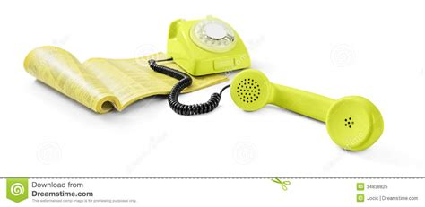 And Phone Search Vintage Telephone And Phone Directory Royalty Free Stock Photo Image 34838825