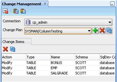 Oracle Describe Table by Sql Developer Concepts And Usage