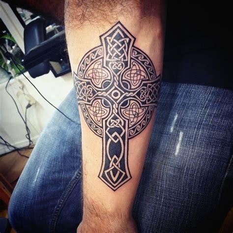 celtic tribal tattoos for men 100 celtic cross tattoos for ancient symbol design ideas