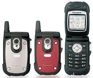 Handphone Panasonic Handphone Panasonic X68 X77 A Sporty And Semi Ruggedized Phone