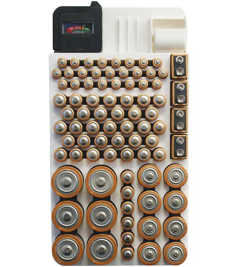 Battery Rack Organizer by Battery Storage Rack In Battery Organizers