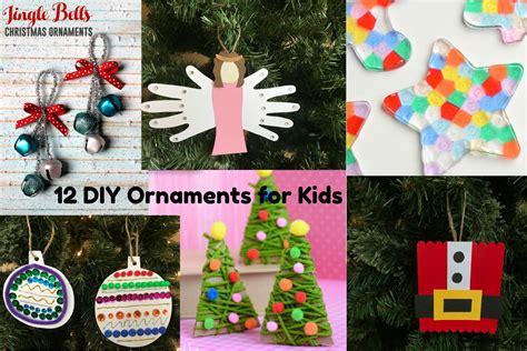 diy christmas ornaments  kids love  littles