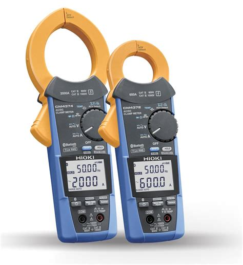 Multimeter Hioki hioki launches ac dc cl meter cm4372 and cm4374 hioki