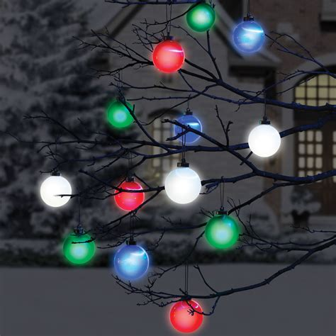the cordless lighted outdoor ornaments hammacher schlemmer