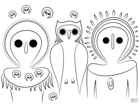 Aboriginal Colouring Pages Driverlayer Search Engine Free Printable Aboriginal Colouring Pages