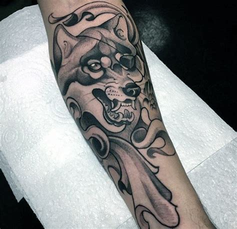fore arm tattoo designs for men 40 wolf forearm designs for masculine ink ideas