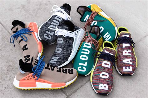 Adidas Nmd Human Race Pw Original Sneakers adidas originals x pharrell williams human race nmd tr pack now available in stores