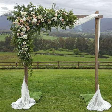 Wedding Arch Melbourne by Wooden Wedding Arches Wooden Wedding Arbours Melbourne