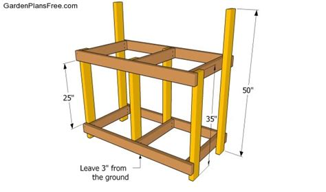 building the bench potting bench plans with sink free garden plans how to