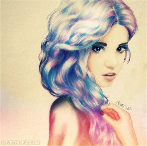 hairstyles color drawing hair drawing pictures photos and images for facebook