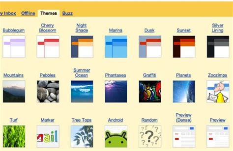 classic themes gmail how to test drive gmail s new cleaner look or return to