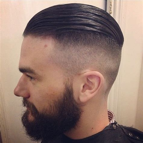 high tight undercut with slickback by benjamji finished