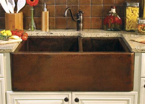 evier cuivre la cuisine am 233 nag 233 e avec 233 vier en cuivre une bonne id 233 e