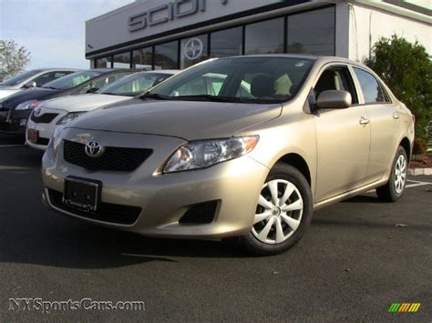 2009 toyota corolla le in desert sand mica 171105 nysportscars cars for sale in new york