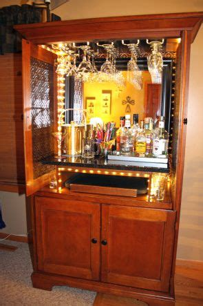 Armoire Bar Cabinet Awesome Bars And Cabinets On