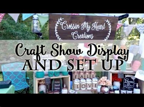 christmas craft show signs craft show set up display