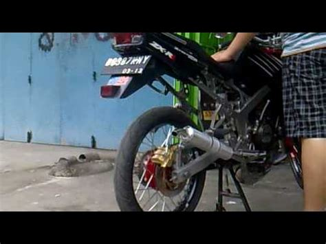 Knalpot 150r 150rr kawasaki 150r 2004 r9 exhaust in my backyard funnycat tv