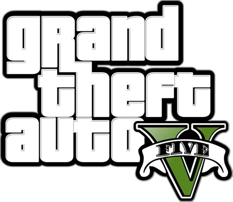 Gran Theft Auto 5 Logo by Grand Theft Auto 5 Online Logo Www Imgkid The