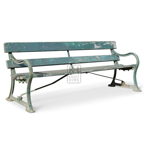 green bench benches prop hire 187 green bench keeley hire