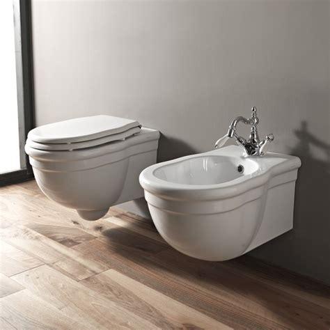 wc inklusive bidet hidra nostalgisches wandh 228 ngendes wc ellade