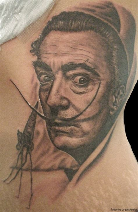 salvador dali tattoos 25 salvador dali tattoos