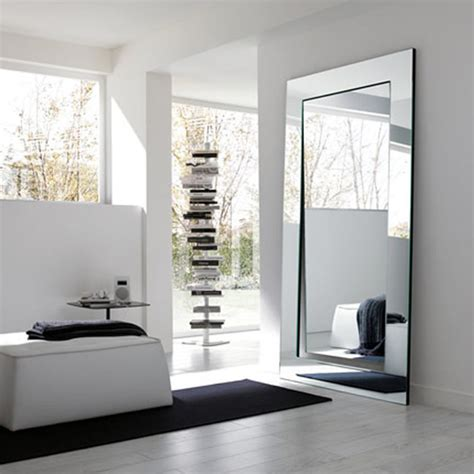 tonelli gerundio floor mirror contemporary floor mirrors other metro by modernpalette