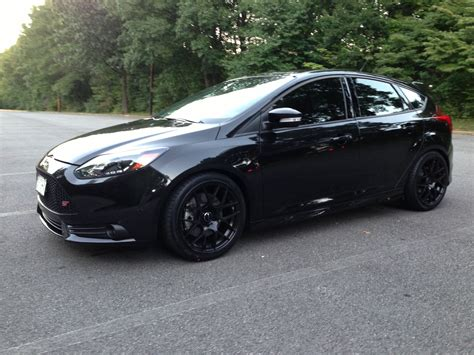 Ford Focus Rs Series Black And White Wheels all black ford focus st black rims ford focus st tuning black rims ford focus