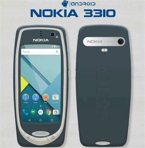 Nokia 3310 Android nokia 3310 to be powered by android os no it s not