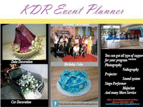 KDR Event Planner ? Bangladesh Event Management Company
