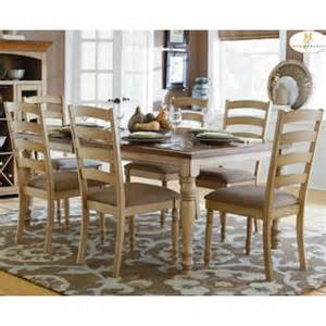 borehole brisson dining set in warm pine stain from sears
