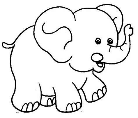 imagenes de elefantes faciles para dibujar elefantes dibujos para pintar colorear im 225 genes