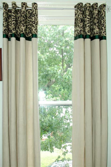 drop cloth curtain turtlecraftygirl diy canvas dropcloth curtains