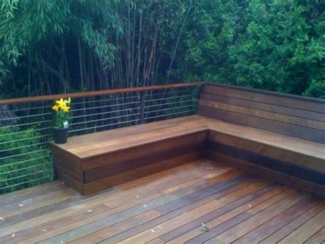 bench seating on deck deck benches with backs amazing bench seating on deck 1