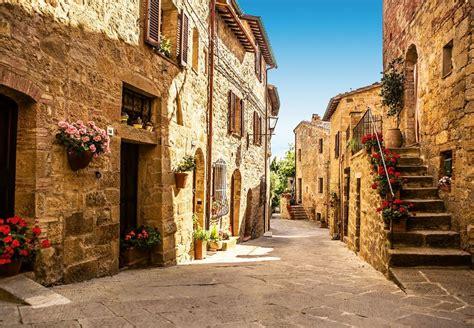photo wallpapers tuscany village shop