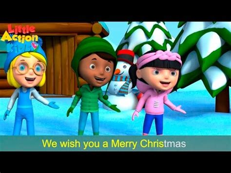 nutana christmas action songs we wish you a merry with actions and lyrics children s song