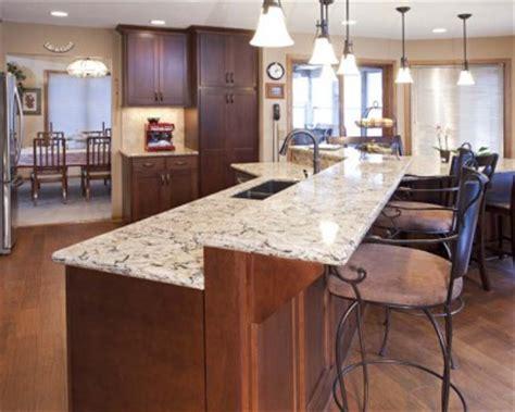Kitchen Countertops Mn by Burnsville Kitchen Remodel Cherry Wood Cabinetry Cambria Countertops Burnsville Kitchen