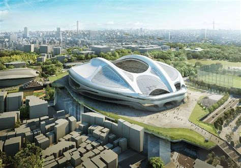 Home Design Center Bahamas by Japan Drops Zaha Hadid S Design For Olympic Stadium Tokyo
