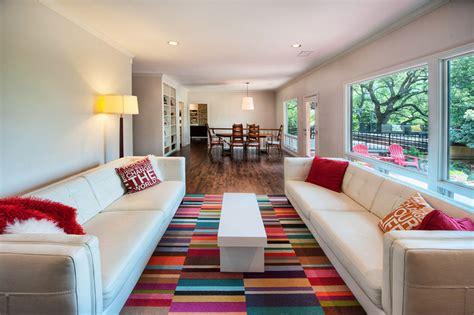 Modern Living Room Carpet by Salas Decoradas 30 Ideias Originais Para Voc 234 Se Inspirar