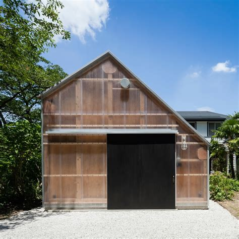 Shed Roof Architecture by Ft Architects Covers Photo Studio In Japan With