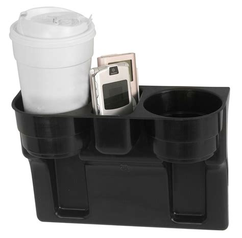 With Cup Holders by Black 2 Cup Holder Drink Beverage Seat Wedge Car Auto