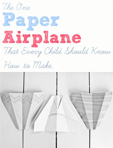Best Paper Airplane Fold - how to fold the best paper airplane the crafting