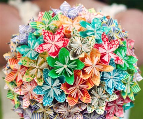 membuat origami bunga kusudama cara membuat origami kusudama flower bouquet life style